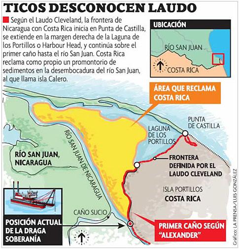 Von wegen Google Maps! Invadierte Nicaragua den Nachbarn ...